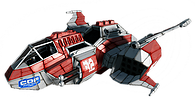 Union Cosmos CDF Lihgt Gunship