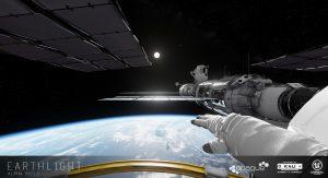 Union Cosmos Earthlight Banner