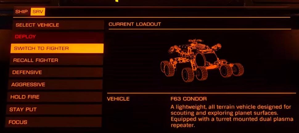 Union Cosmos Elite Dangerous ordenes SLF