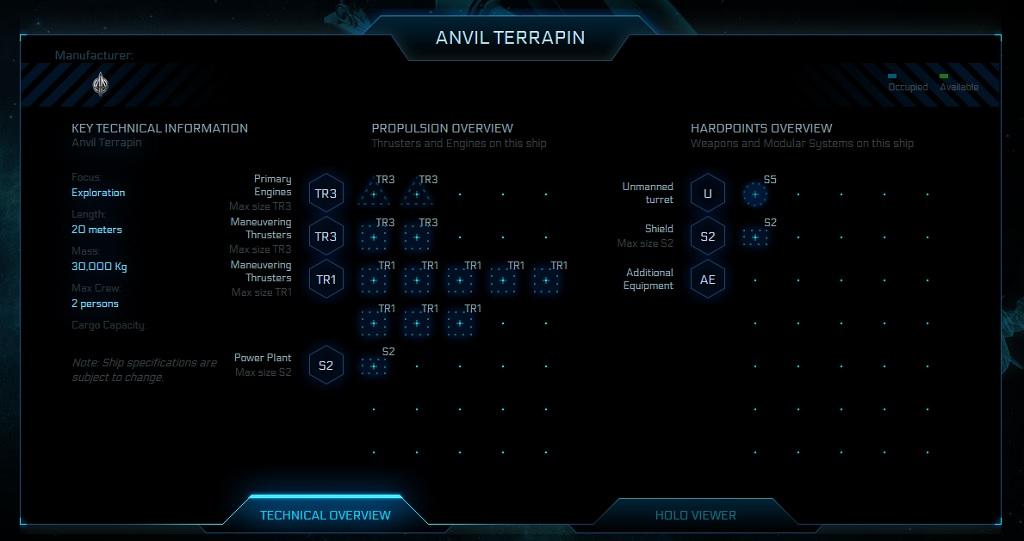 Union-Cosmos-Star-Citizen-Anvil_Terrapin Thecnicla Overview