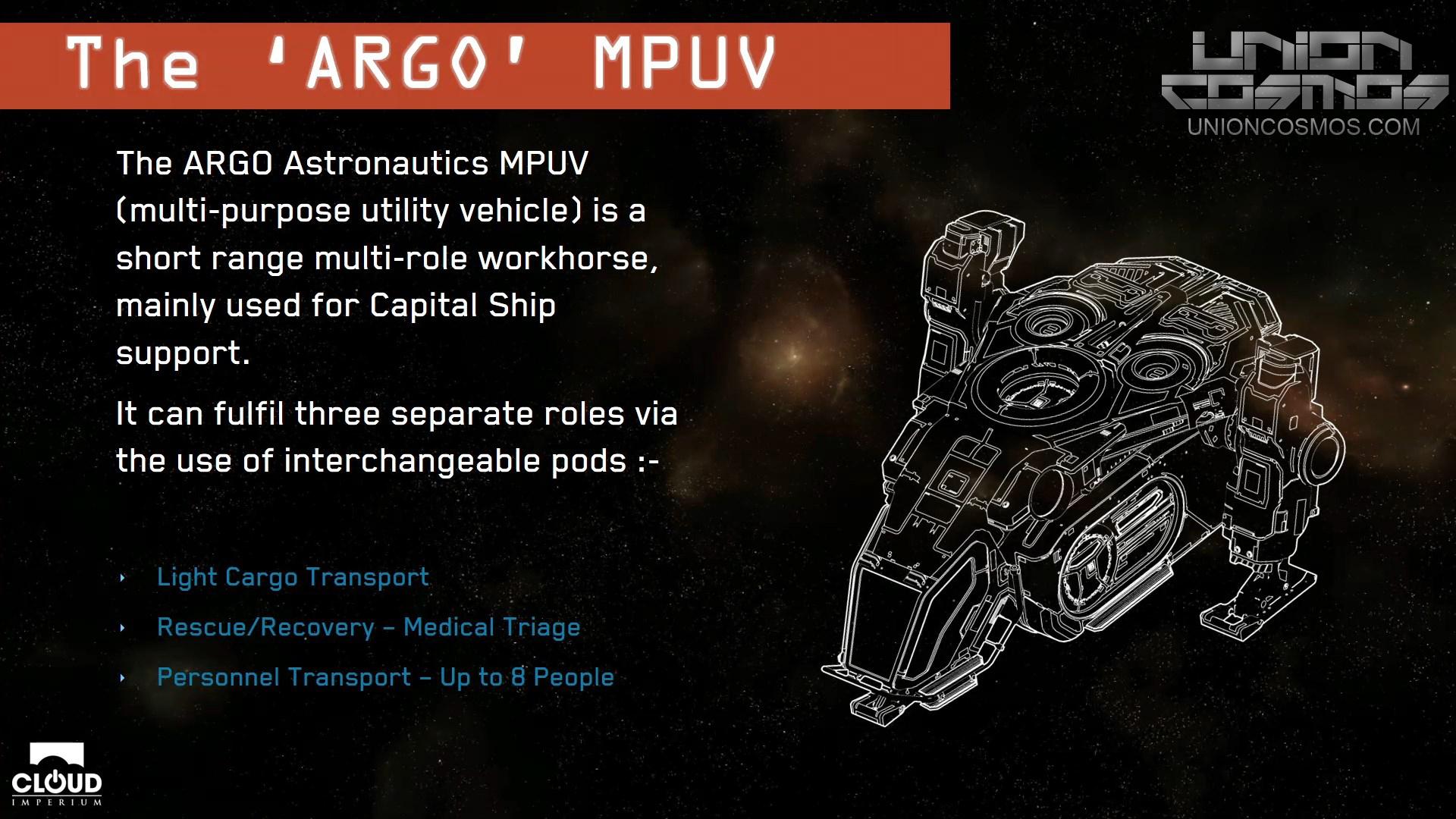 Union-Cosmos-Star-Citizen-Gamescom-2016-Chris-Roberts-MPUV-ARGO
