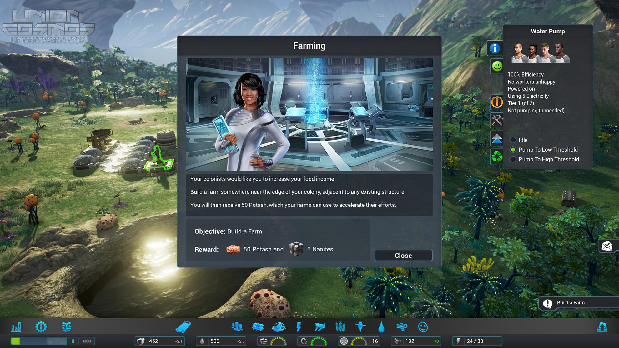 union-cosmos-even-colony-screenshot