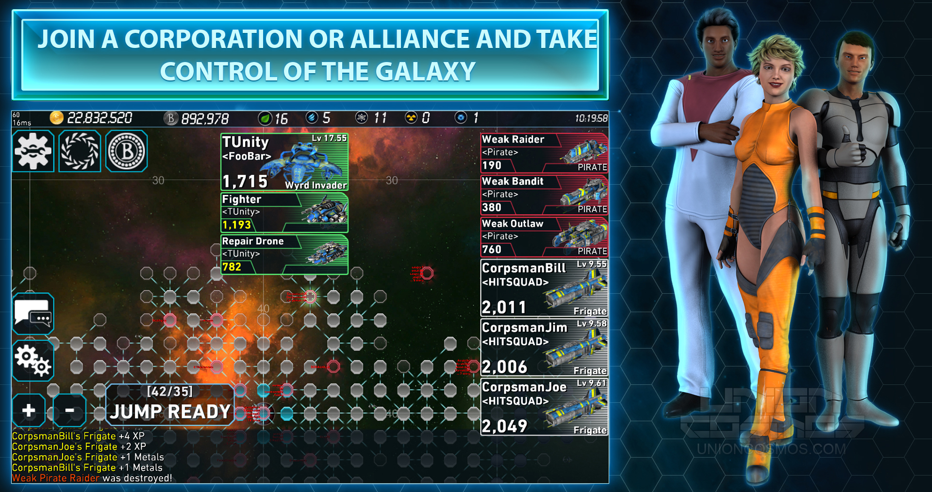 union-cosmos-the-infinite-black-alianzas-y-ayudas